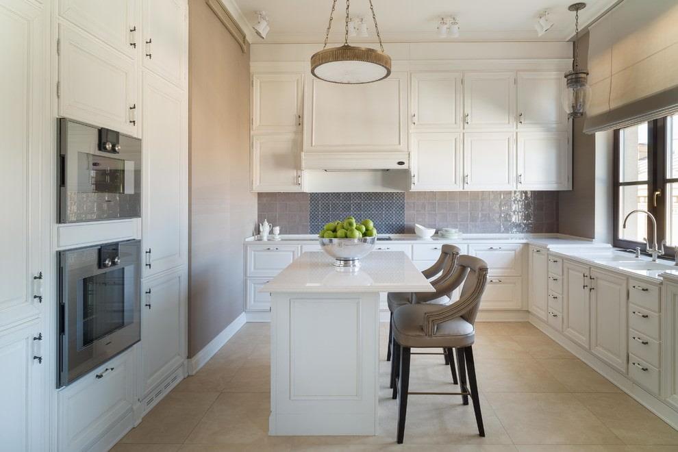 белая кухня идеи фото