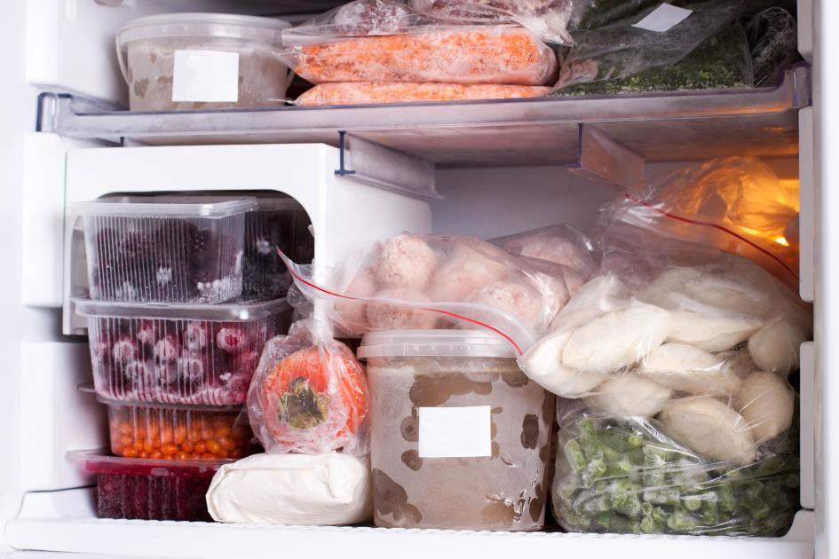 заморозка в морозильной камере
