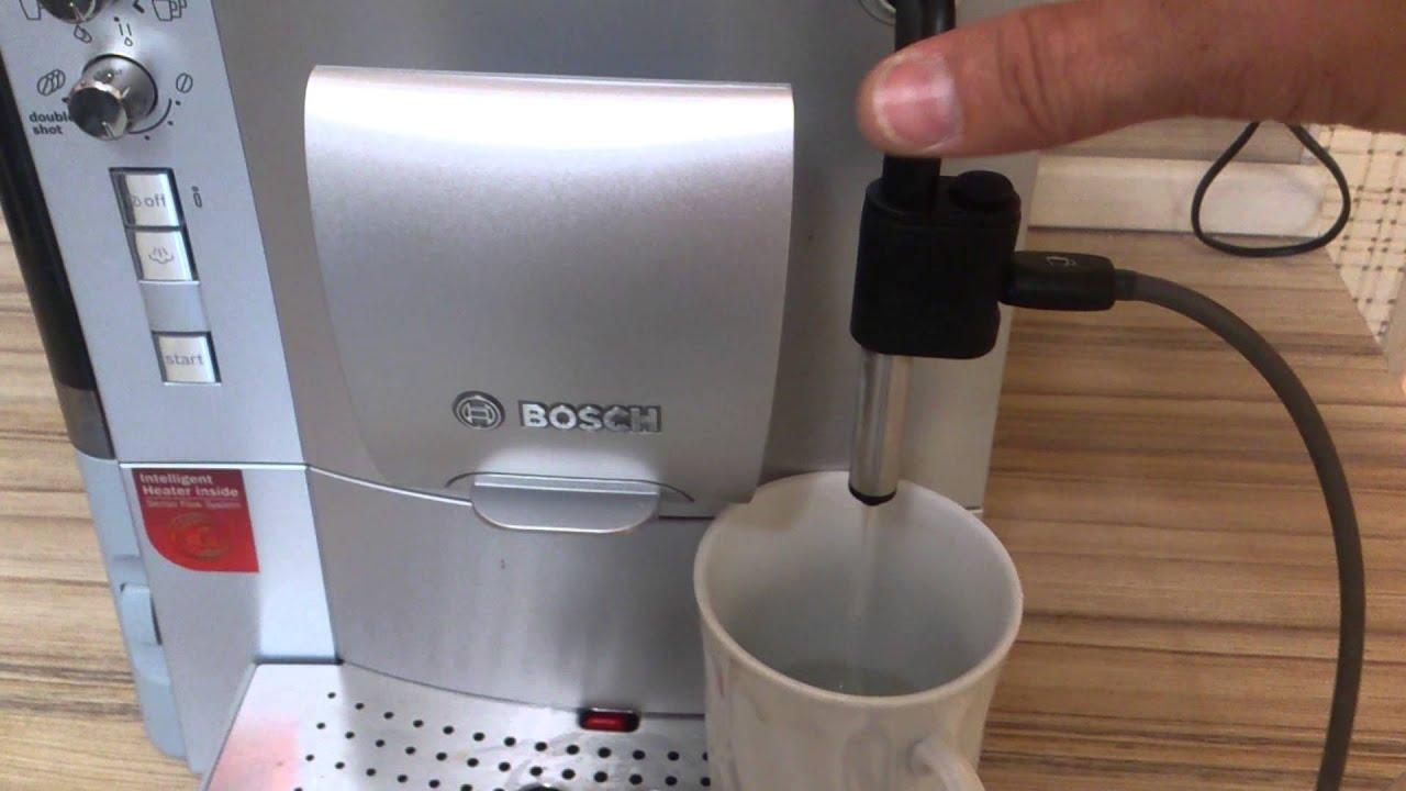 чистка кофемашины bosch
