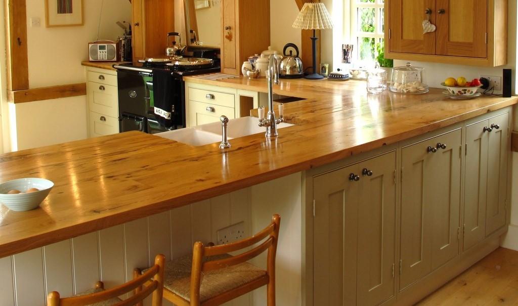 деревянные столешницы для кухни как выбрать и ухаживать