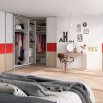 гардеробная в спальне фото оформления