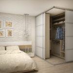 гардеробная в спальне идеи вариантов