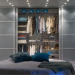гардеробная в спальне виды оформления