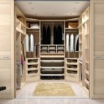 гардеробная в спальне дизайн