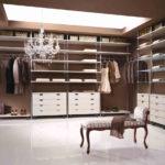 гардеробная в спальне дизайн фото