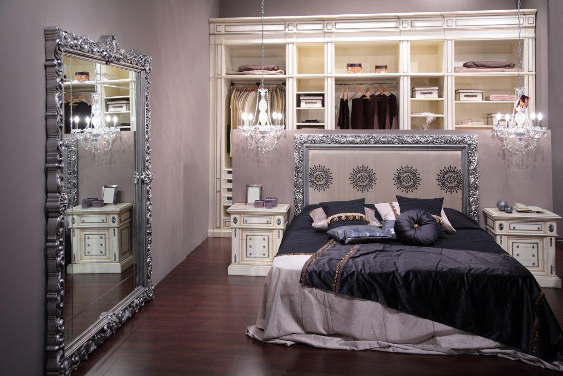 гардеробная в спальне светильники