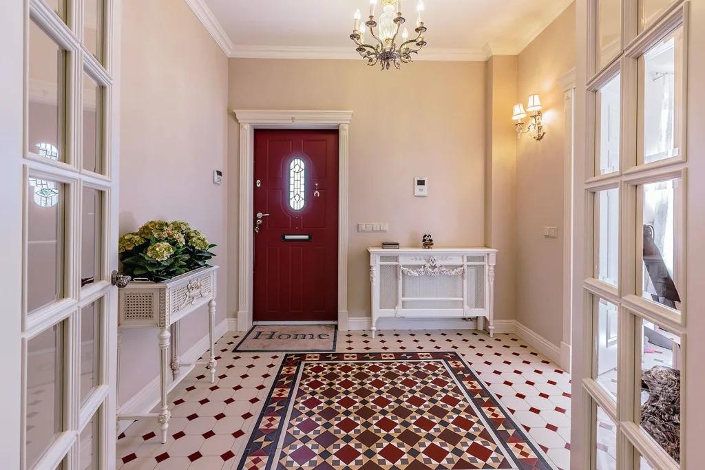 коридор и прихожая в английском стиле