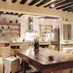 кухня в стиле кафе декор