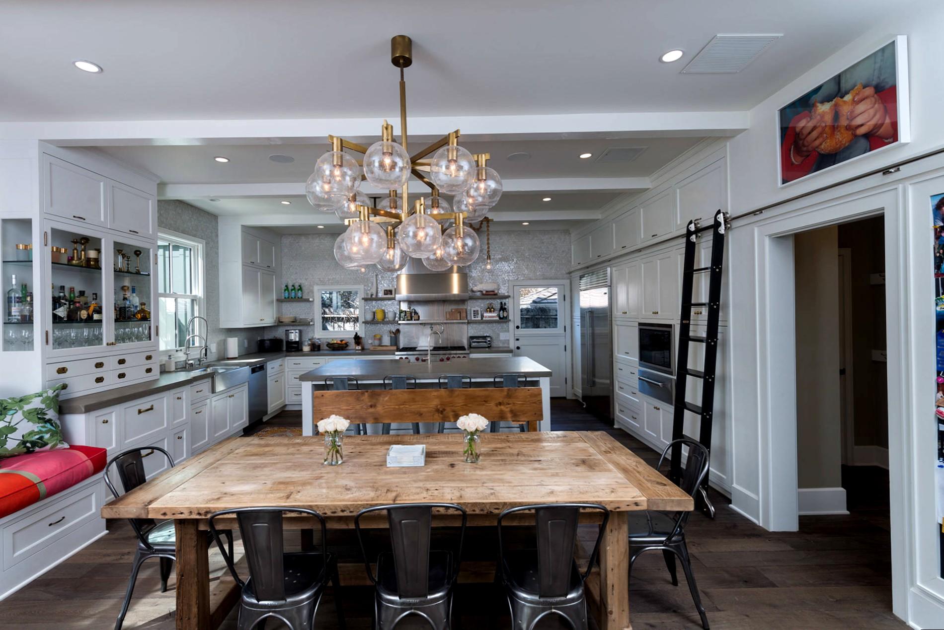 кухня в стиле кафе фото декор
