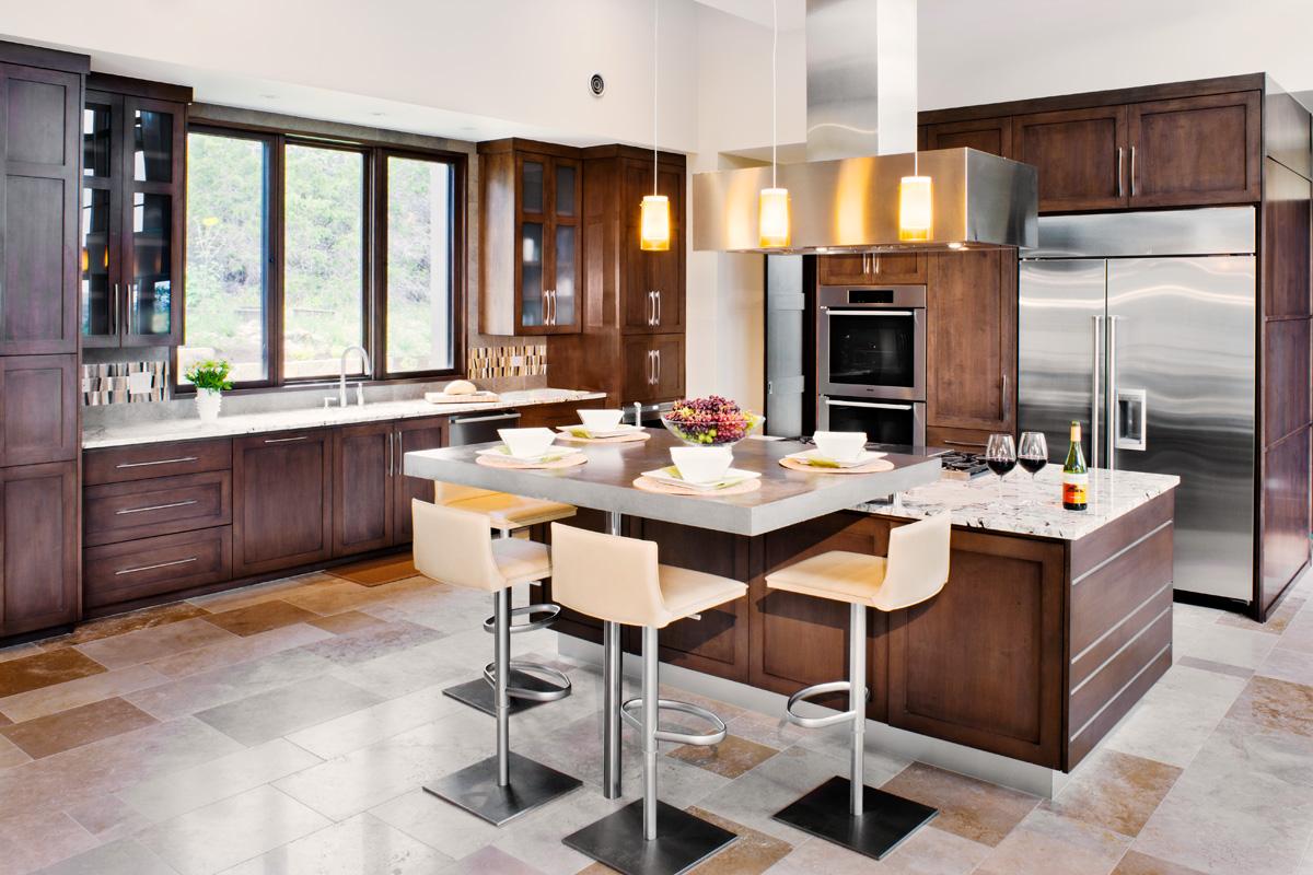 кухня в стиле кафе фото декора