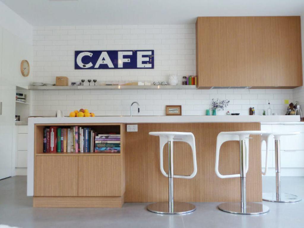 кухня в стиле кафе фото идеи