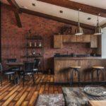 кухня в стиле кафе и бара виды дизайна