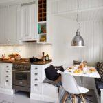 кухня в стиле кафе и бара идеи фото