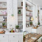 кухня в стиле кафе и бара дизайн