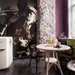 кухня в стиле кафе и бара идеи дизайн