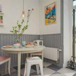 кухня в стиле кафе и бара декор фото