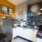 кухня в стиле кафе и бара фото декор