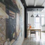 кухня в стиле кафе и бара фото декора