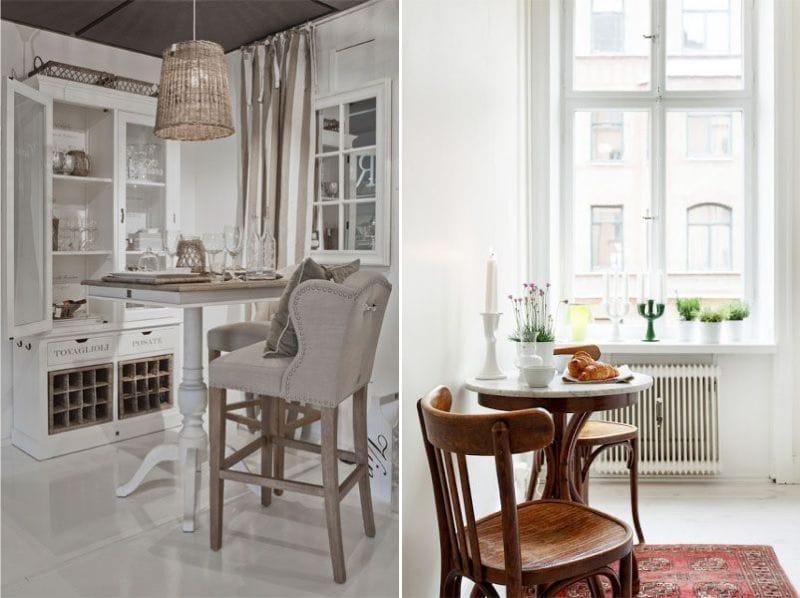 кухня в стиле французского кафе фото этот раз