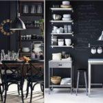 кухня в стиле кафе и бара интерьер