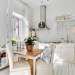кухня в стиле кафе и бара интерьер фото