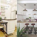 кухня в стиле кафе и бара фото интерьера