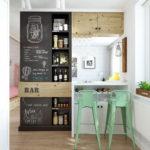 кухня в стиле кафе и бара идеи варианты