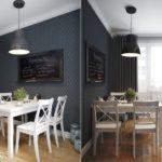 кухня в стиле кафе и бара идеи интерьер