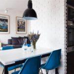 кухня в стиле кафе и бара оформление идеи
