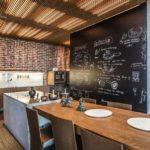 кухня в стиле кафе и бара виды