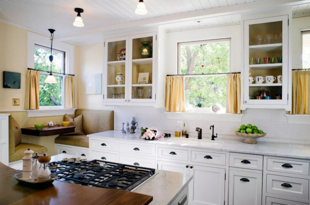 кухня в стиле кафе идеи дизайн