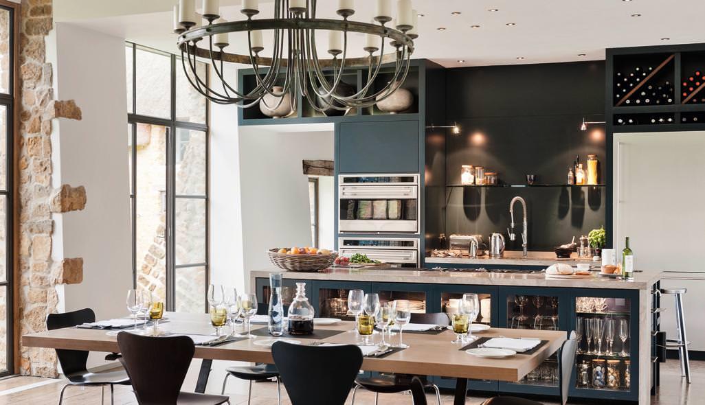кухня в стиле кафе идеи дизайна