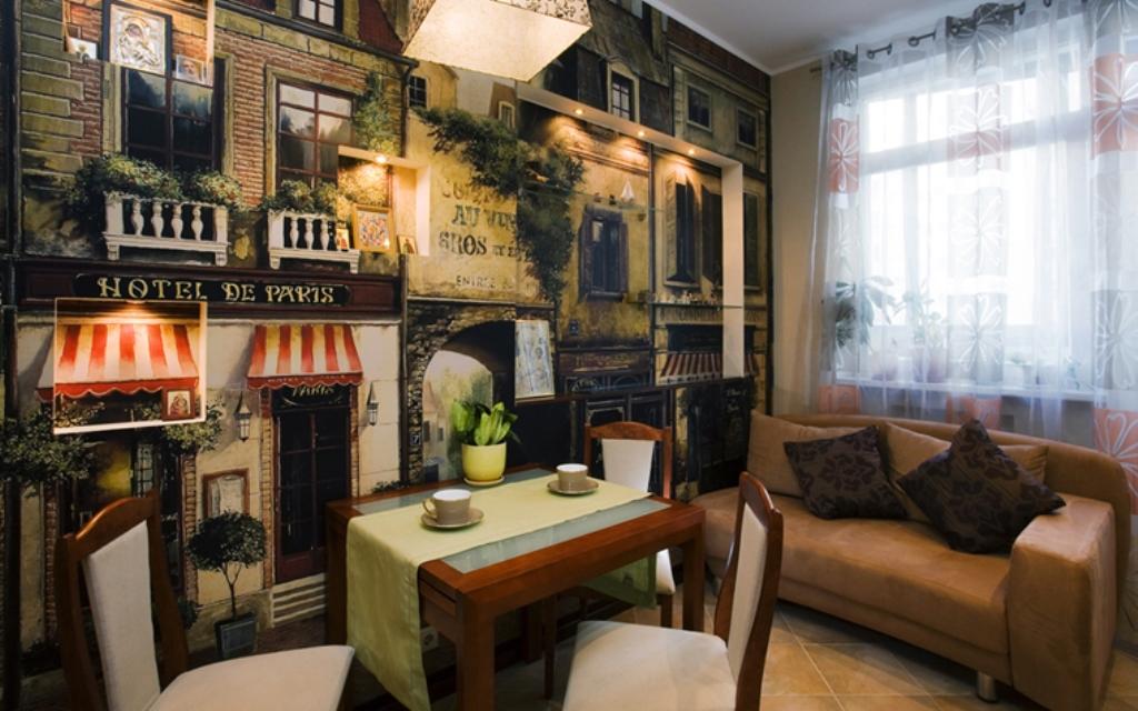 кухня в стиле кафе идеи фото