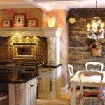 кухня в стиле кафе идеи интерьера