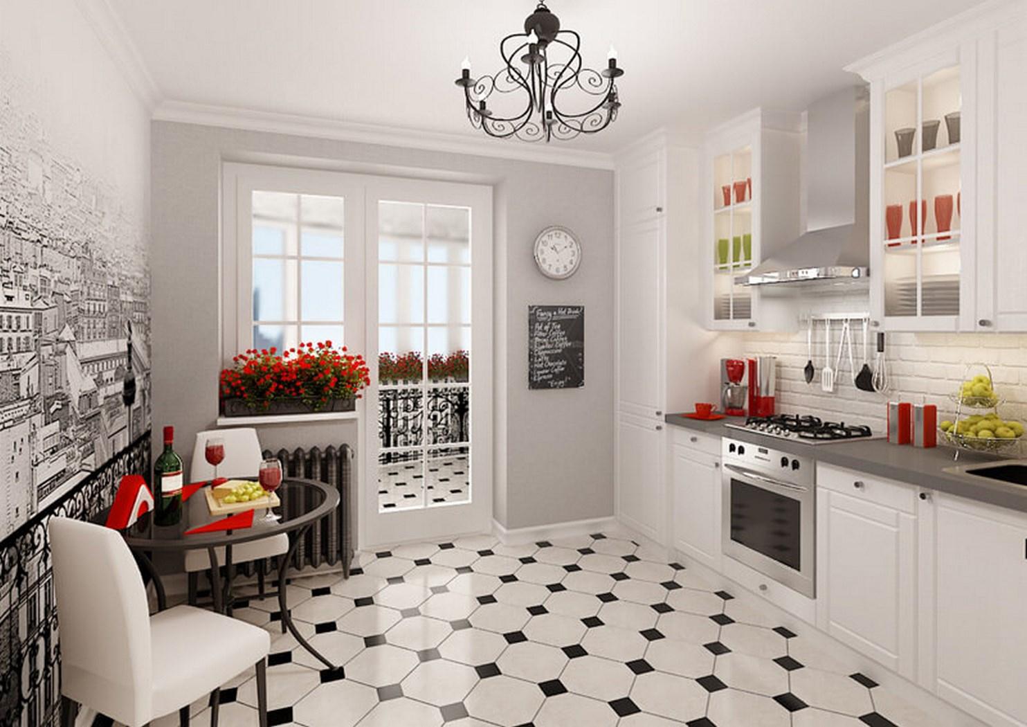 кухня в стиле кафе идеи
