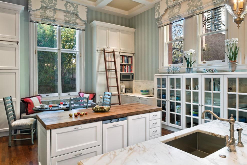 кухня в стиле кафе интерьер фото