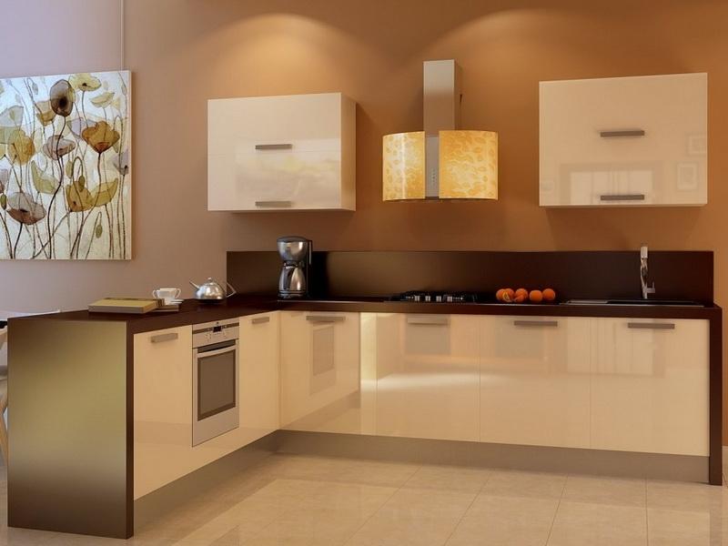 дизайн кухни ванильного цвета фото прав нельзя