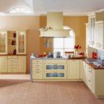 кухня ванильного цвета идеи декора