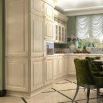 кухня ванильного цвета варианты
