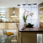 кухня ванильного цвета фото варианты