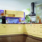кухня ванильного цвета фото вариантов