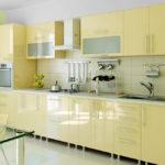 кухня ванильного цвета идеи варианты