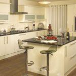 кухня ванильного цвета дизайн идеи