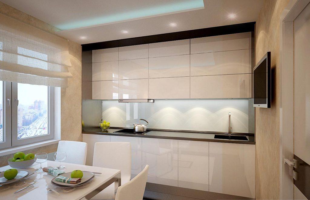 кухня ванильного цвета фото декор