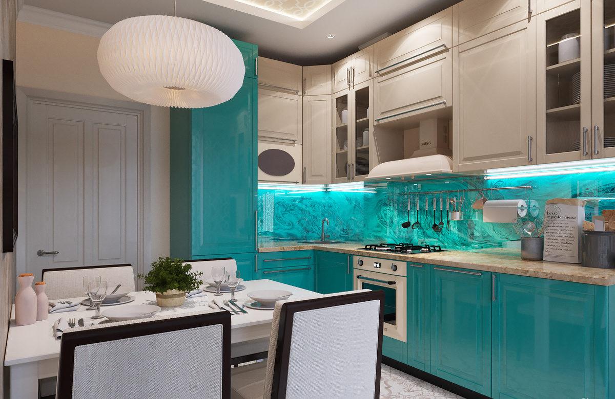 кухня ванильного цвета идеи дизайн