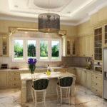 кухня ванильного цвета идеи фото