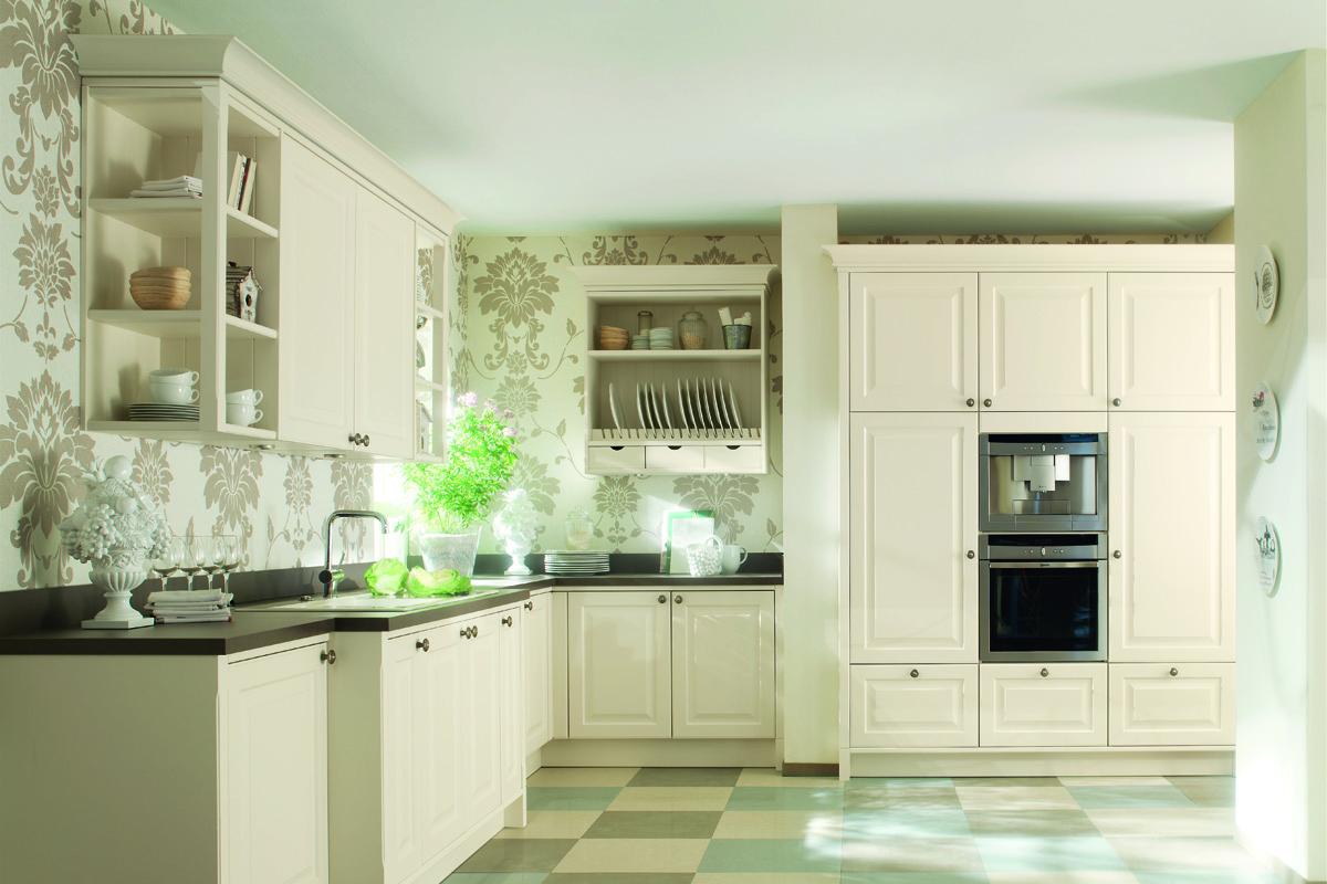 кухня ванильного цвета идеи интерьера