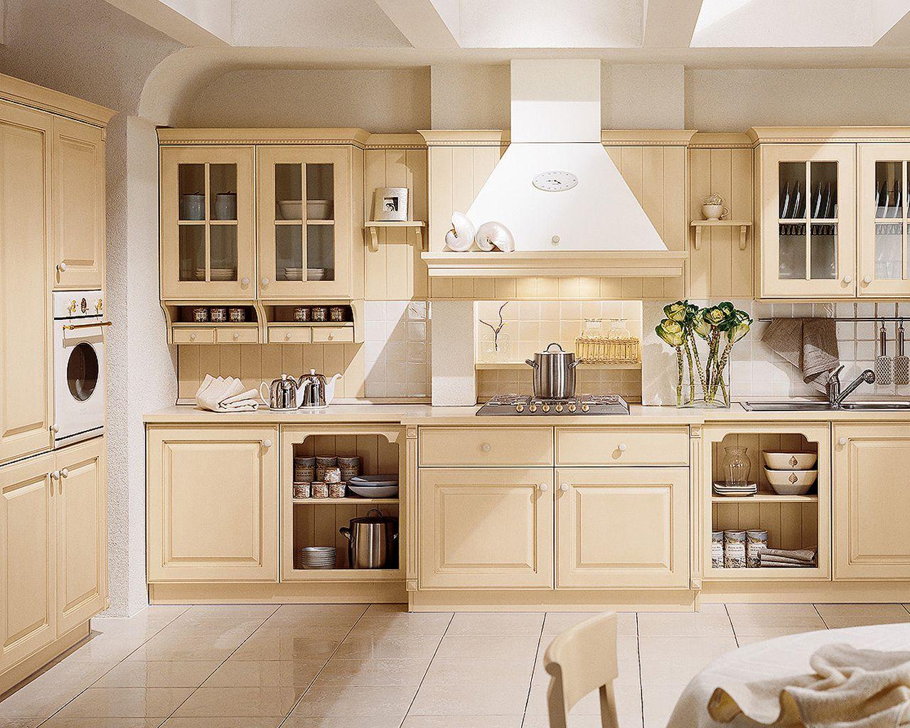 кухня ванильного цвета идеи оформление