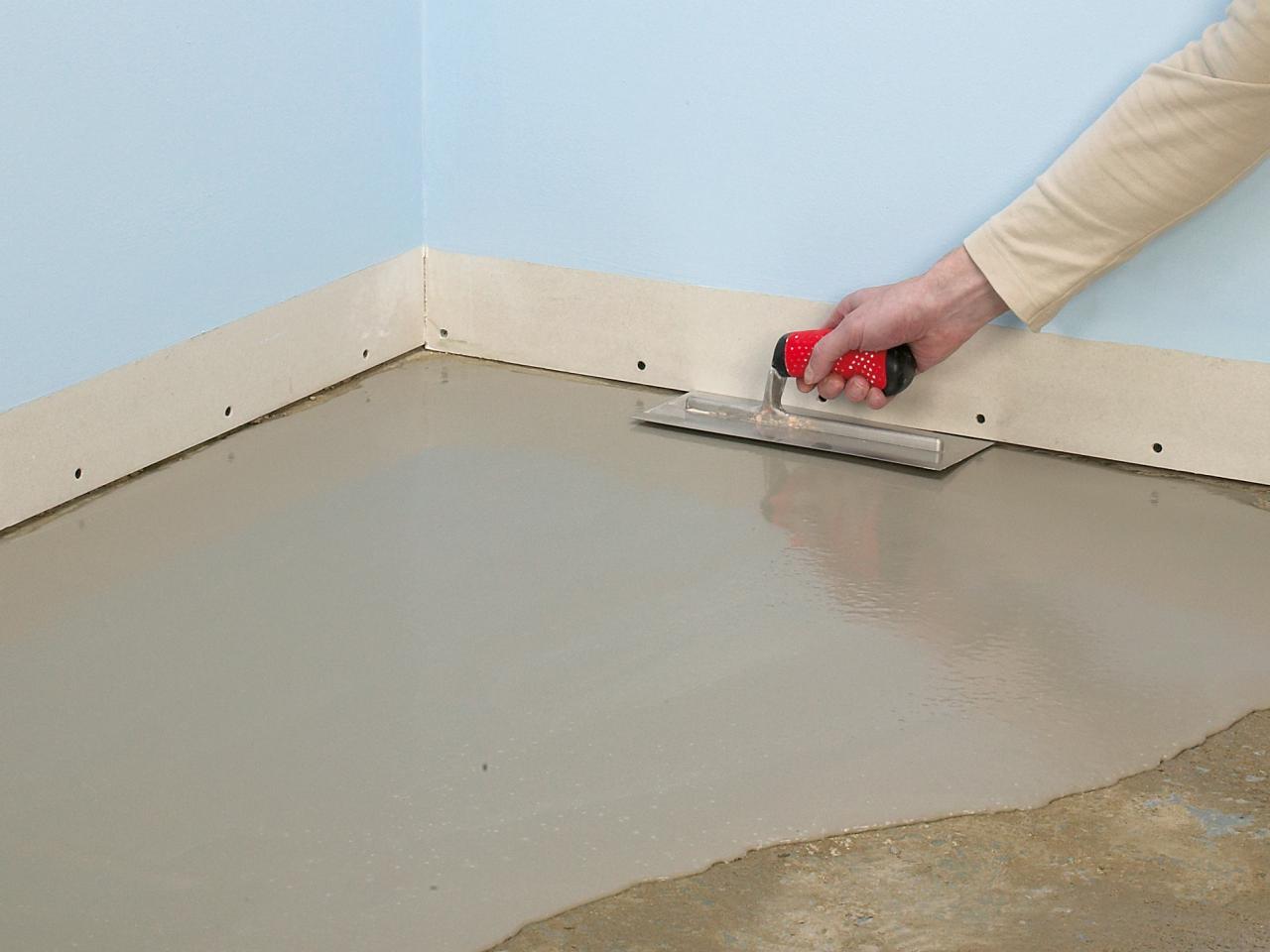 кварц-виниловая плитка подготовка основания
