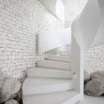 лестница на второй этаж в частном доме интерьер